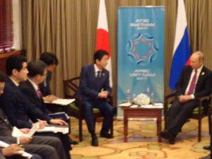 プーチン大統領との会談