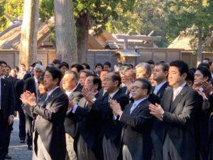 伊勢神宮参拝