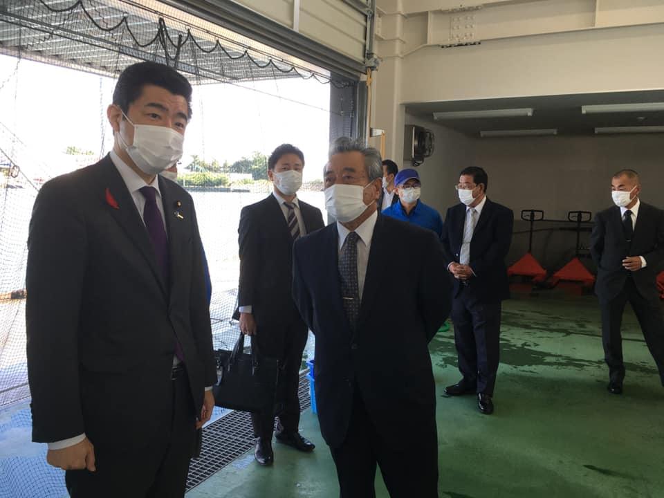 静岡水産業視察の様子