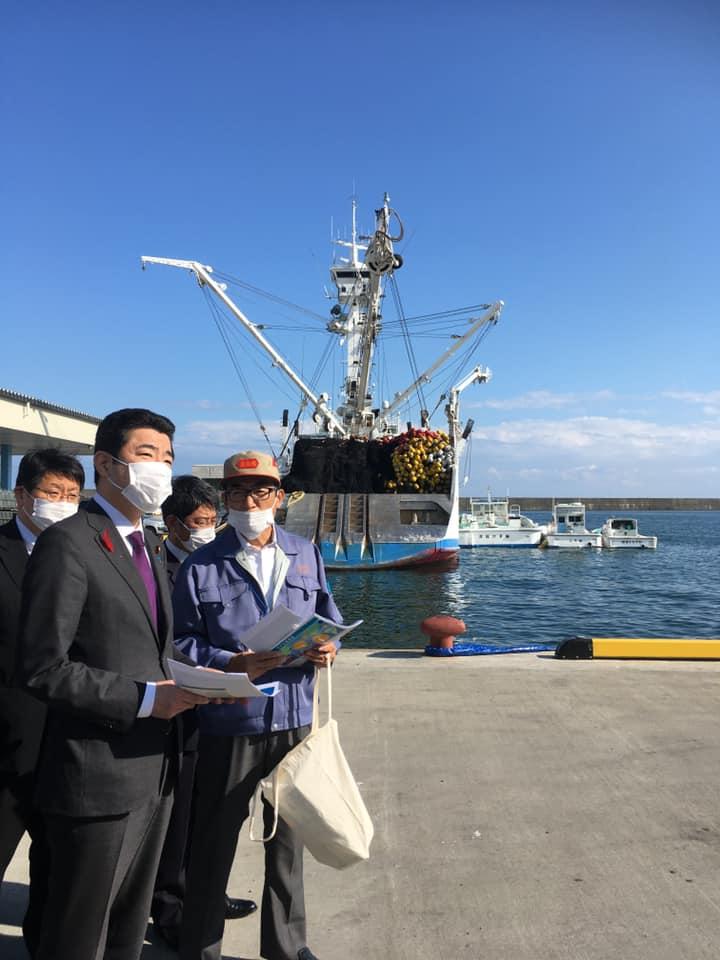 静岡水産業視察の様子その2