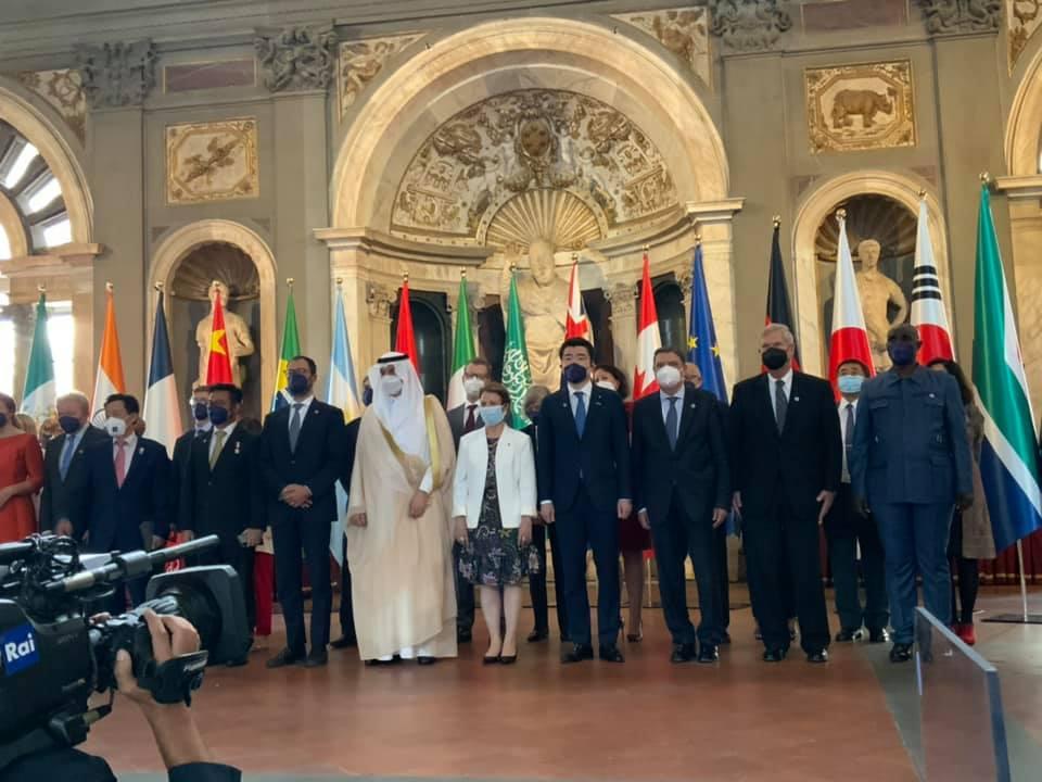 G20各国代表者と